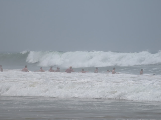 giant waves in south africa beaches