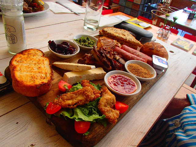 south african food platter