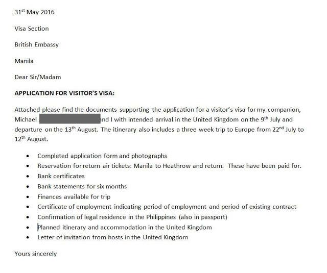 application-letter-uk-visa
