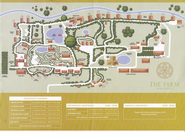 map of the farm at san benito