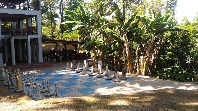 giant chess shercon resort
