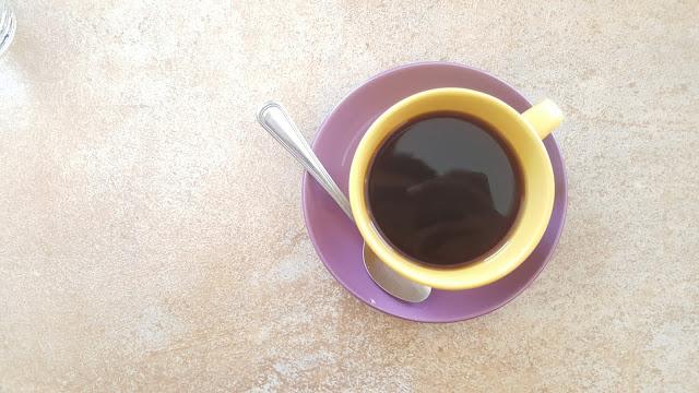 americano coffee for breakfast