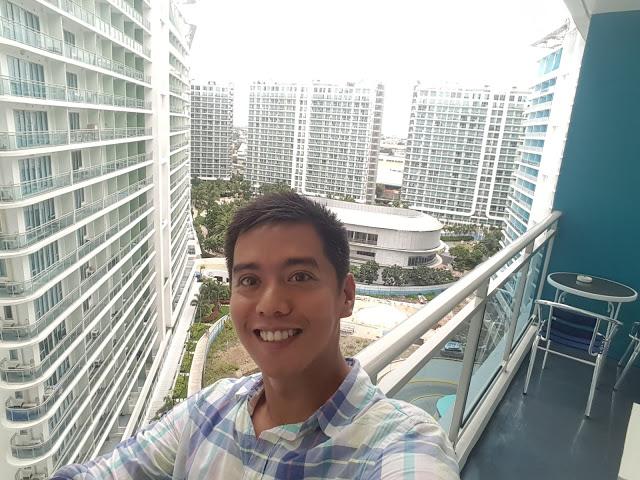 balcony view azure urban resort