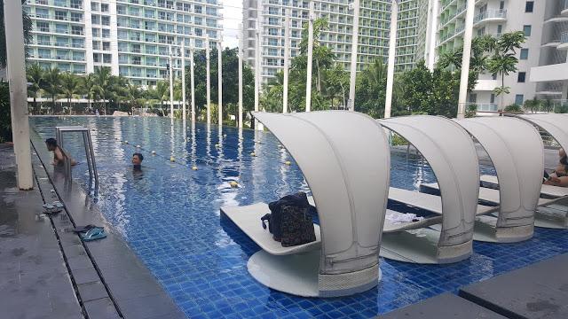 lap pool azure urban resort
