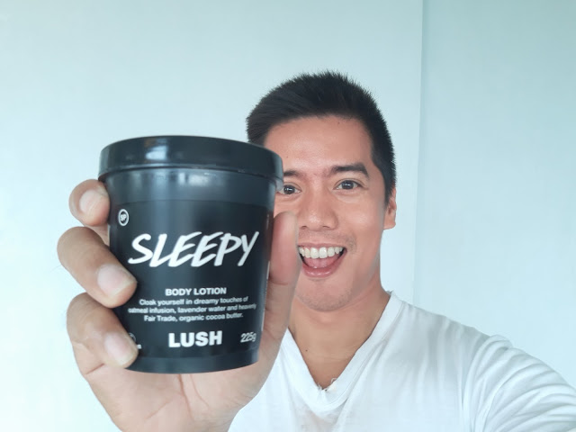 lush sleepy lotion