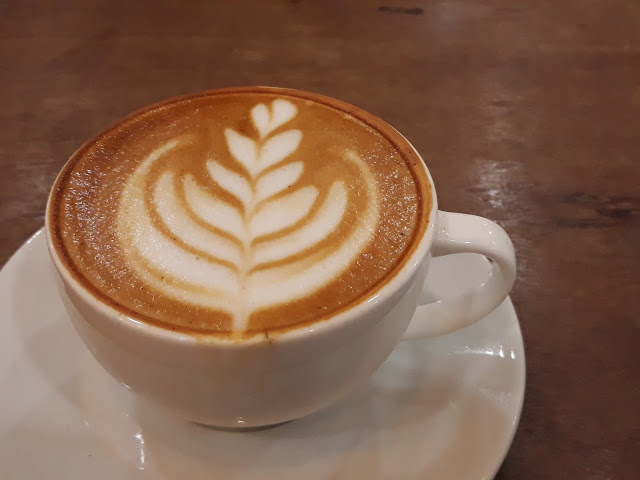 cup of cafe latte