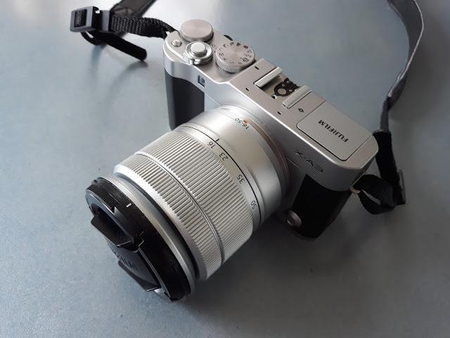fujifilm xa3 camera
