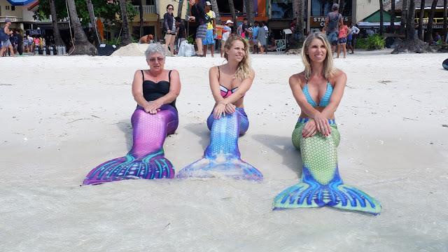 mermaid tails boracay