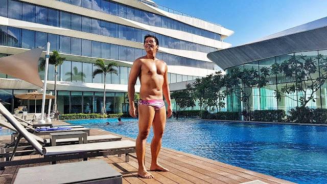 conrad manila swimming pool