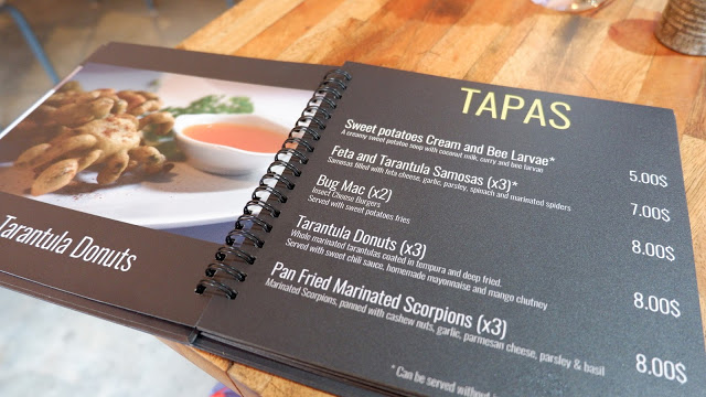 bugs cafe menu
