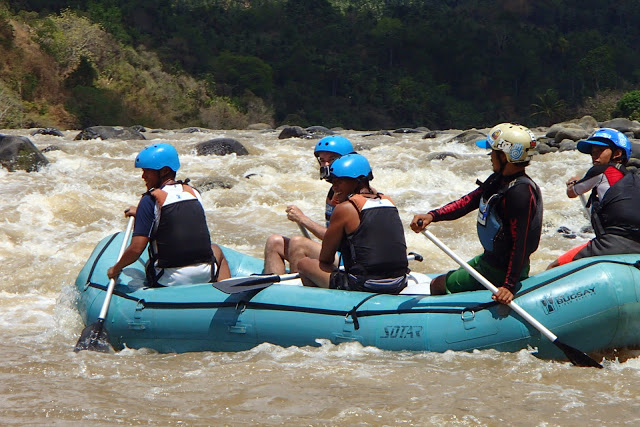 bugsay water rafting cagayan de oro