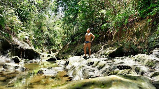 Putakte River in Silang Cavite