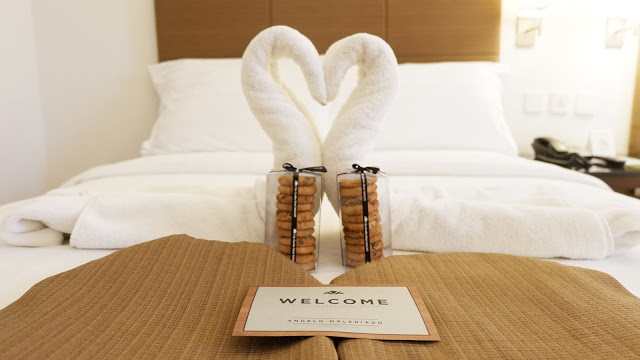hotel welcome note