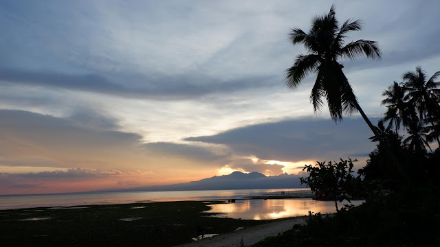 beautiful sunset in siquijor