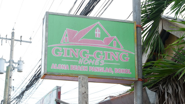 ging ging homes alona beach panglao