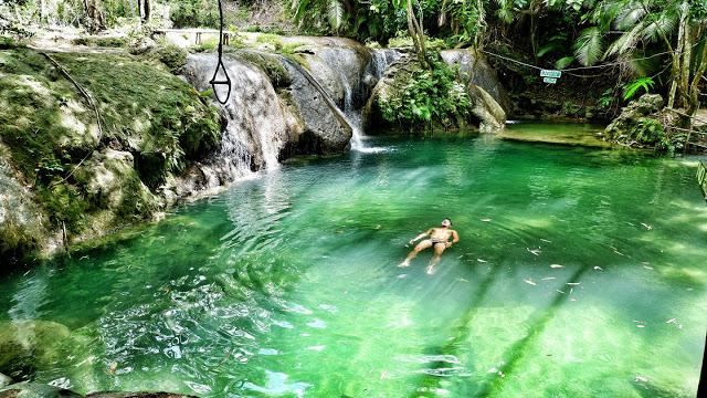 cambugahay waterfall siquijor