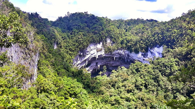gobingob langun cave exploration