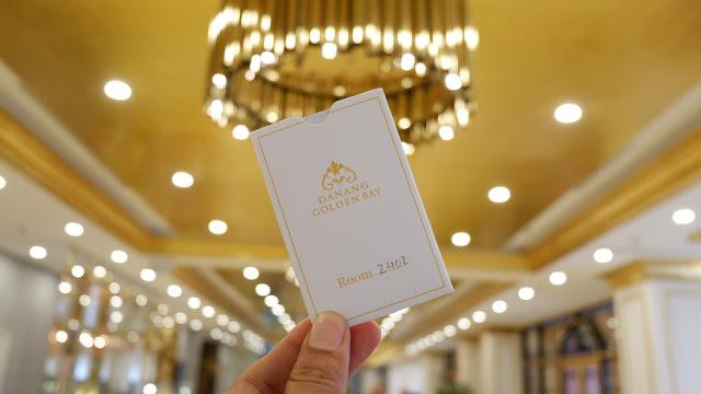 danang golden bay hotel key card