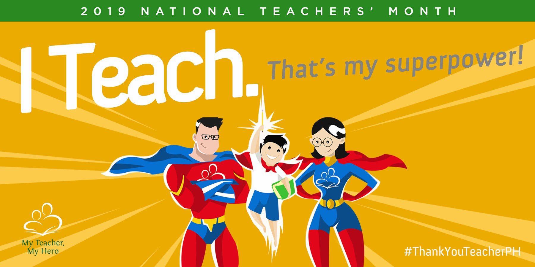 2019 national teachers month celebration