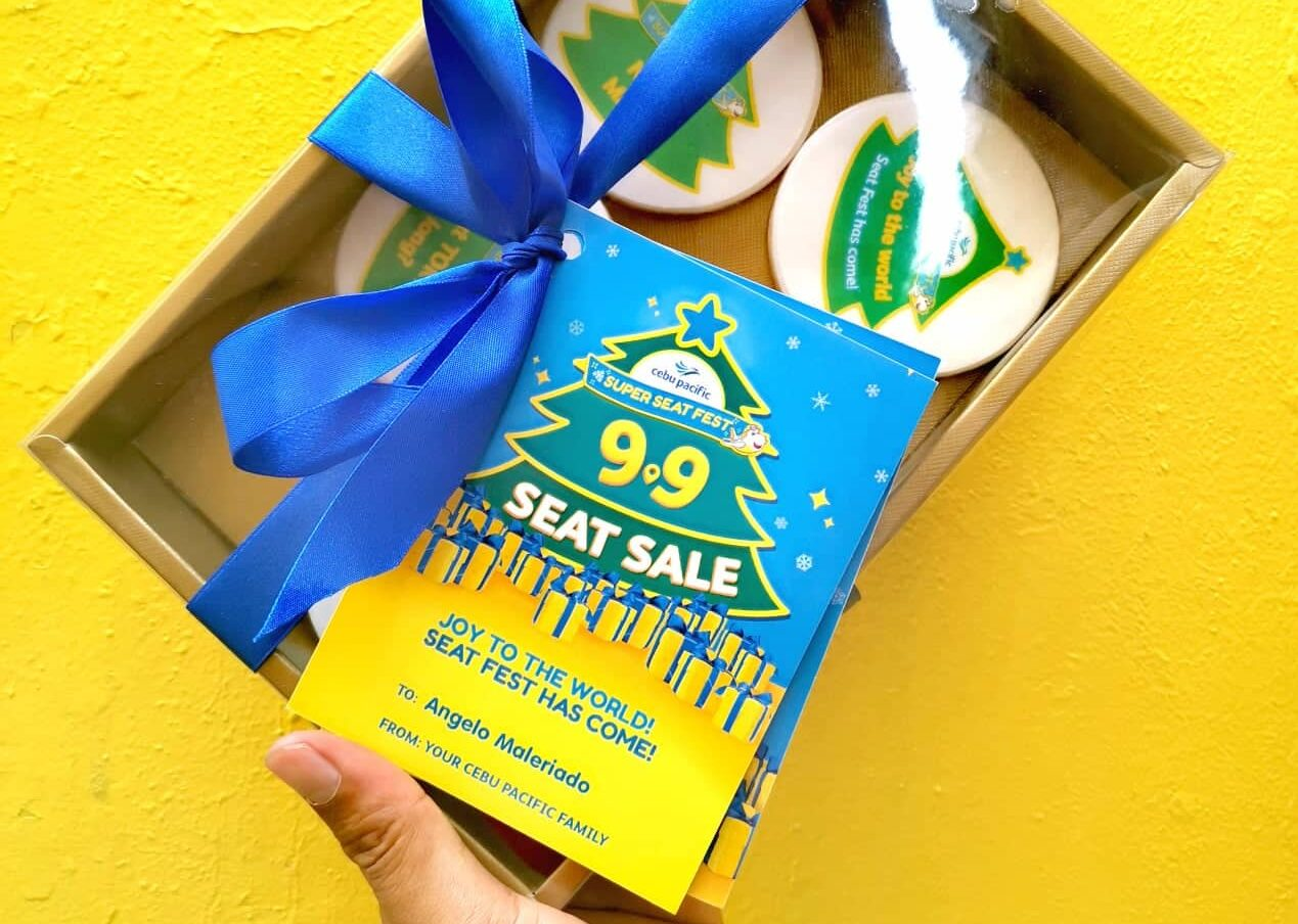 Kick off the 'BER' months with the yuletide Cebu Pacific Super Seat Fest!